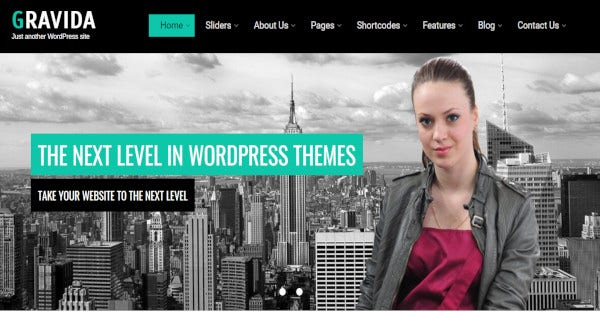gravida woocommerce wordpress theme