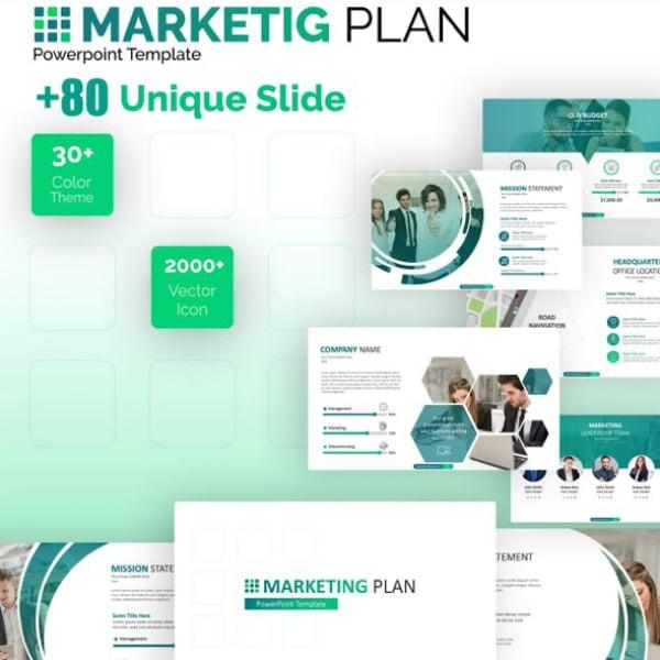 Green Marketing Plan PowerPoint Format