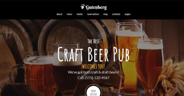 Gutenberg Fully Responsive WordPress Theme