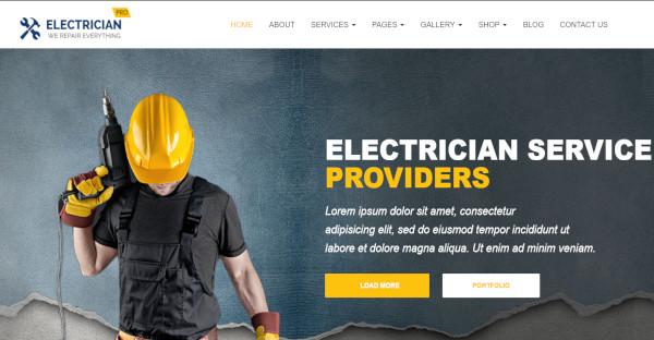 Handyman - BootStrap WordPress Theme