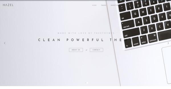 Hazel - 50+ Page Builder WordPress Theme