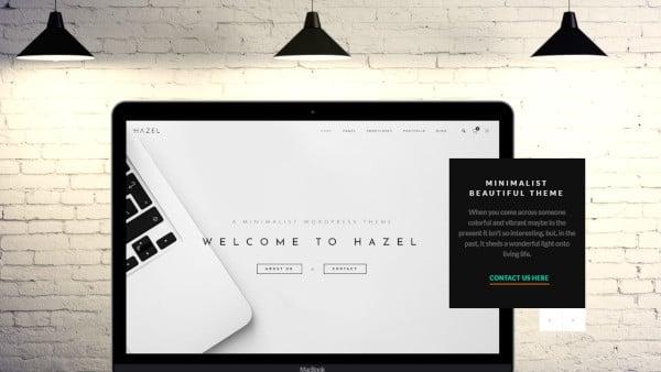 hazel multipurpose wordpress theme