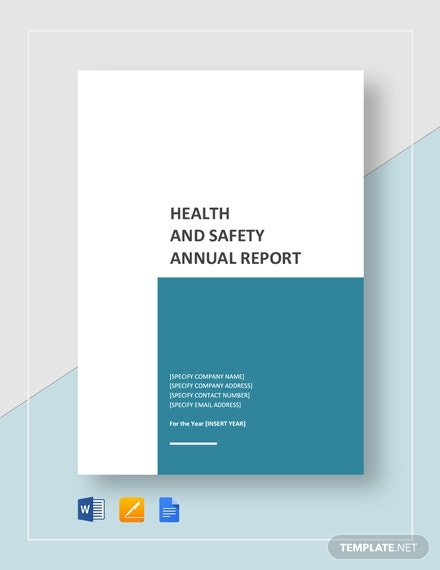 health and safety annual report 2
