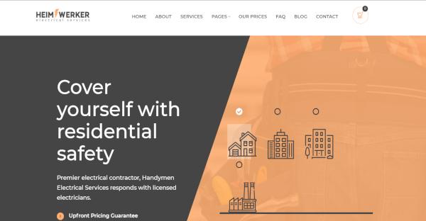 Heimwerker - Visual Composed WordPress Theme