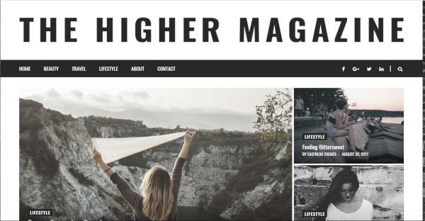 higher place – 40 demos wordpress theme
