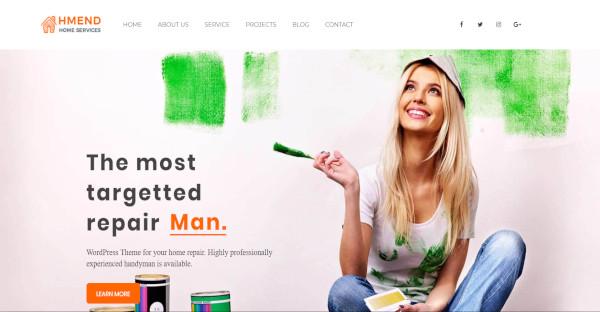 hmend – responsive wordpress theme