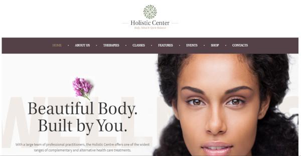 holistic center – spa wordpress theme