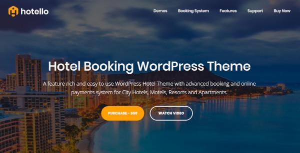 hotello – amp ready wordpress theme