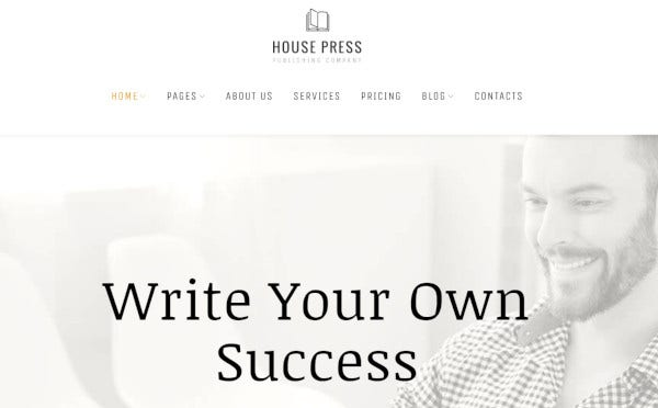 house-press-drag-and-drop-wordpress-theme