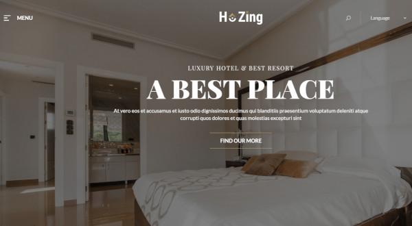 hozing – elementor wordpress theme