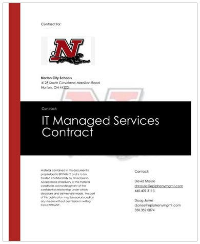 information technology managed services contract1