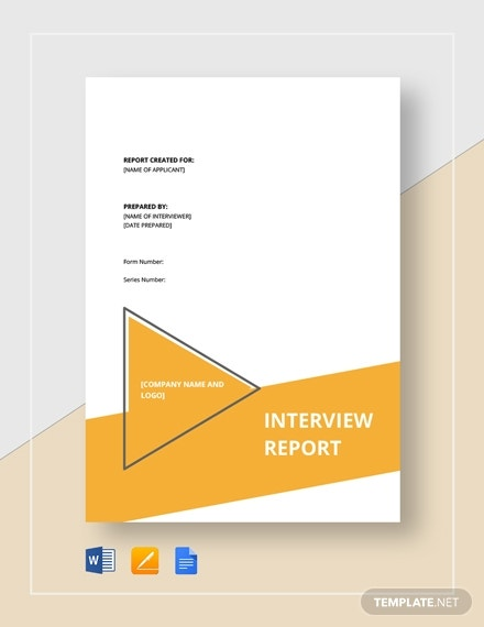 interview report