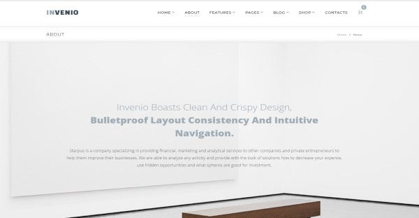 Invenio - Multilingual WordPress Theme