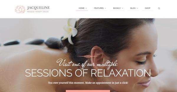 Jacqueline- Massage and Spa WordPress Theme