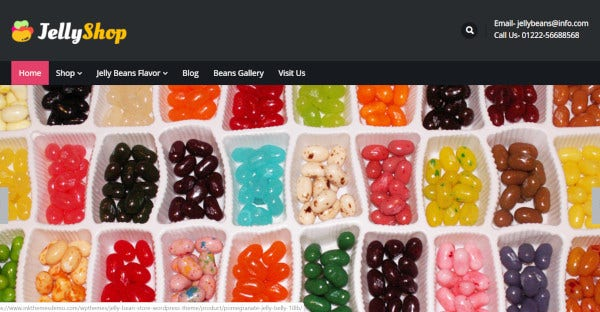 jelly shop css wordpress theme