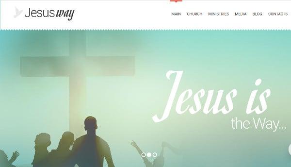 jesusway ecwid ready wordpress theme