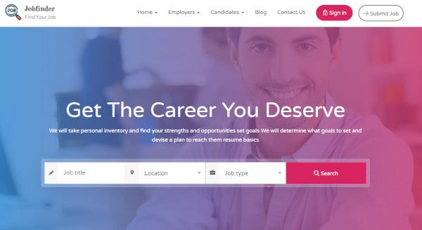 job-finder-one-click-installation-wordpress-theme