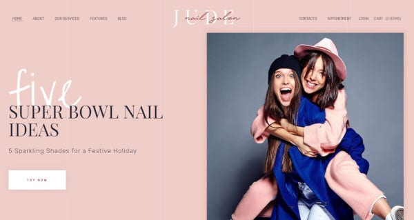 jude nail – wpbakery plugin wordpress theme