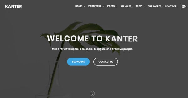 kanter translation ready wordpress theme