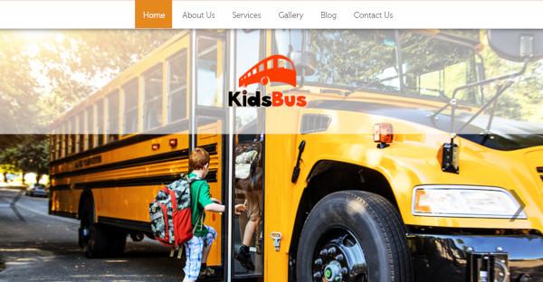 kidsbus – responsive wordpress theme