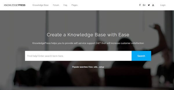 KnowledgePress - BBPress plugins WordPress Theme