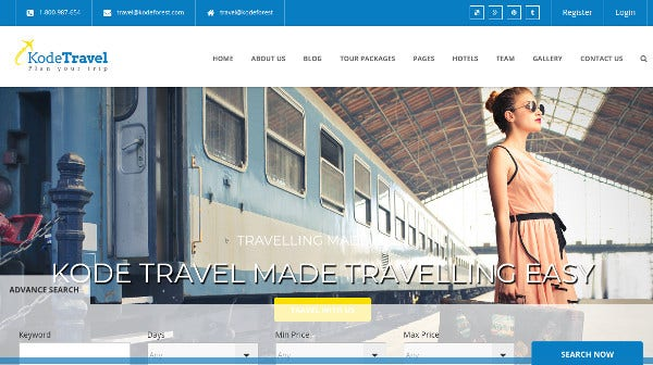 kodetravel-highly-customizable-wordpress-theme