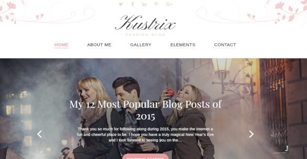 Kustrix – Mobile Friendly WordPress Theme