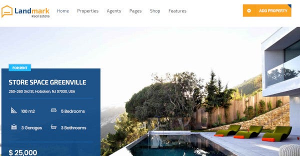landmark-real-estate-wordpress-theme