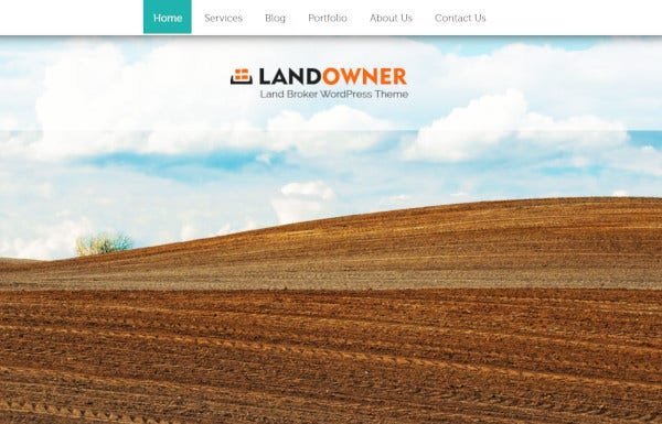 landowner – wpml wordpress themes