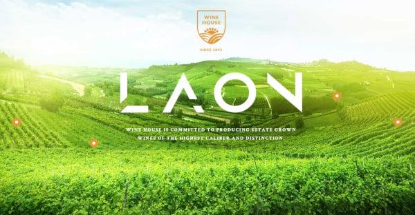 Laon High Resolution WordPress Theme