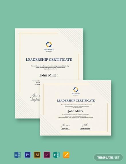 leadership award certificate template 440x570 1