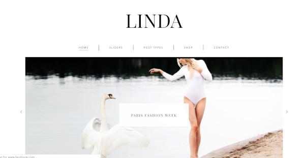 Linda - Highly Responsive WordPress Theme