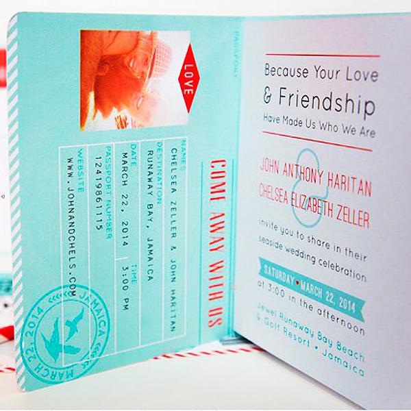 love friendship passport invitation format