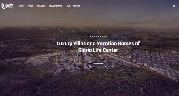 luxe a responsive interior design architecture themes