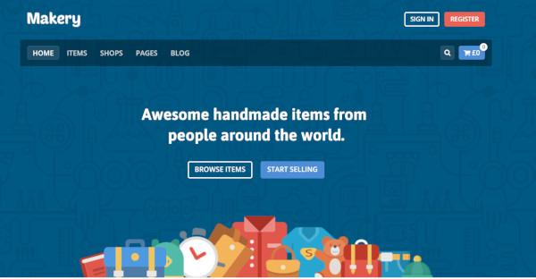makery – responsive wordpress theme