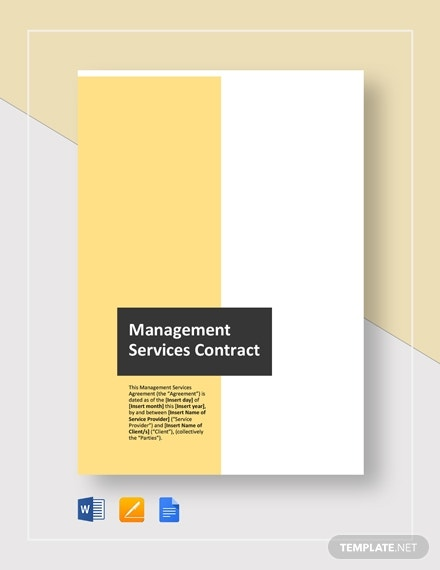 managed services contract 2