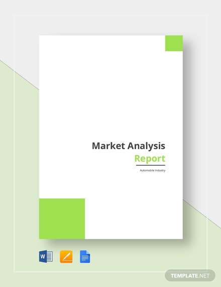 market analysis report 2