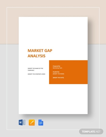 market gap analysis