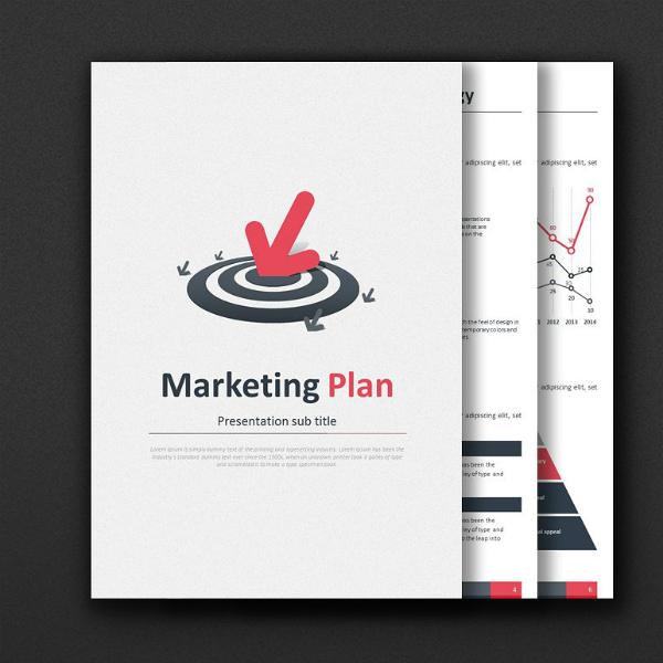 Marketing Plan Strategy PowerPoint Design