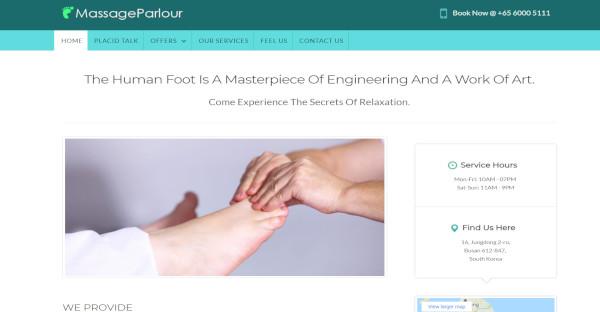 massageparlour – foot massage wordpress theme