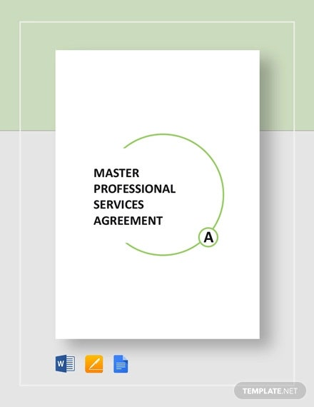 master professional services agreement template1
