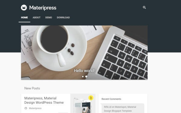 materipress-responsive-wordpress-theme