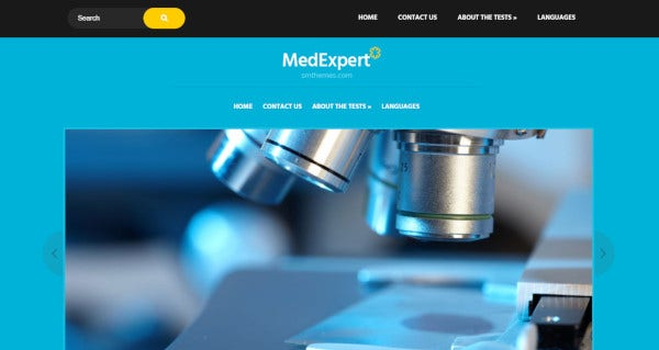 medexpert a useful pherma wordpress theme