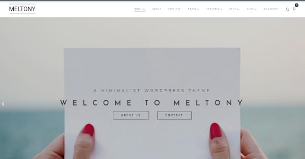 Meltony - JetElements WordPress Theme