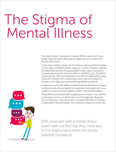 mental health lesson plan