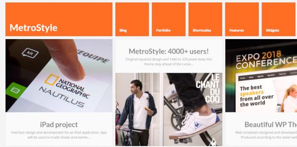metrostyle-multiple-portfolio-pages-wordpress-theme