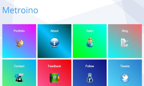 metroino 12 homepage wordpress theme