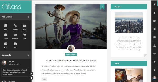 Monarch – User-friendly WordPress Theme