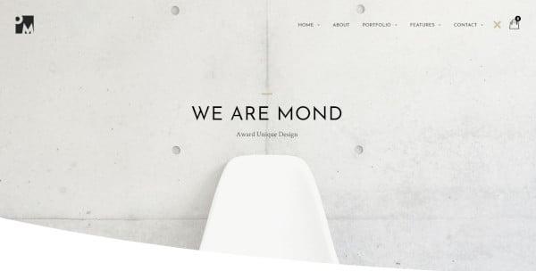 mond powerful page builder wordpress theme