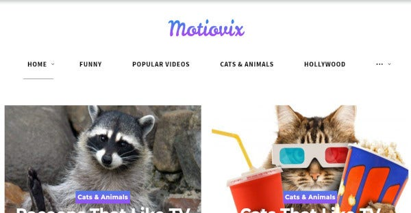 Motiovix- Responsive WordPress Theme